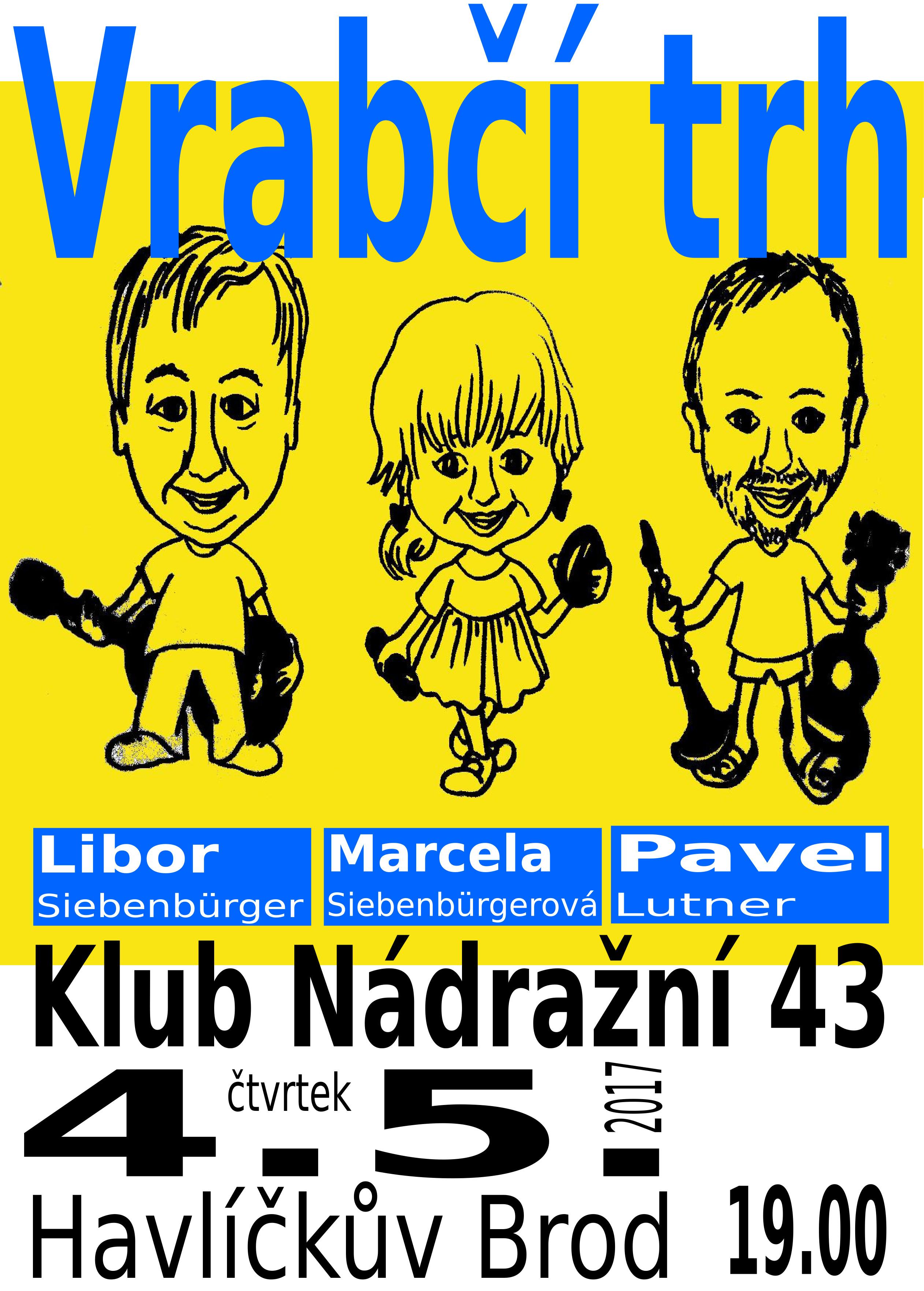 VT plakát 2017 verze Marcely kresba - vzor Nádražní HB 170504